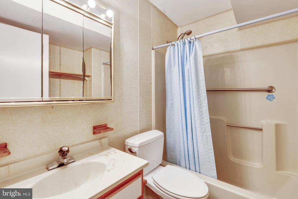 Full bath in the basment - 3208 SHOREVIEW RD, TRIANGLE