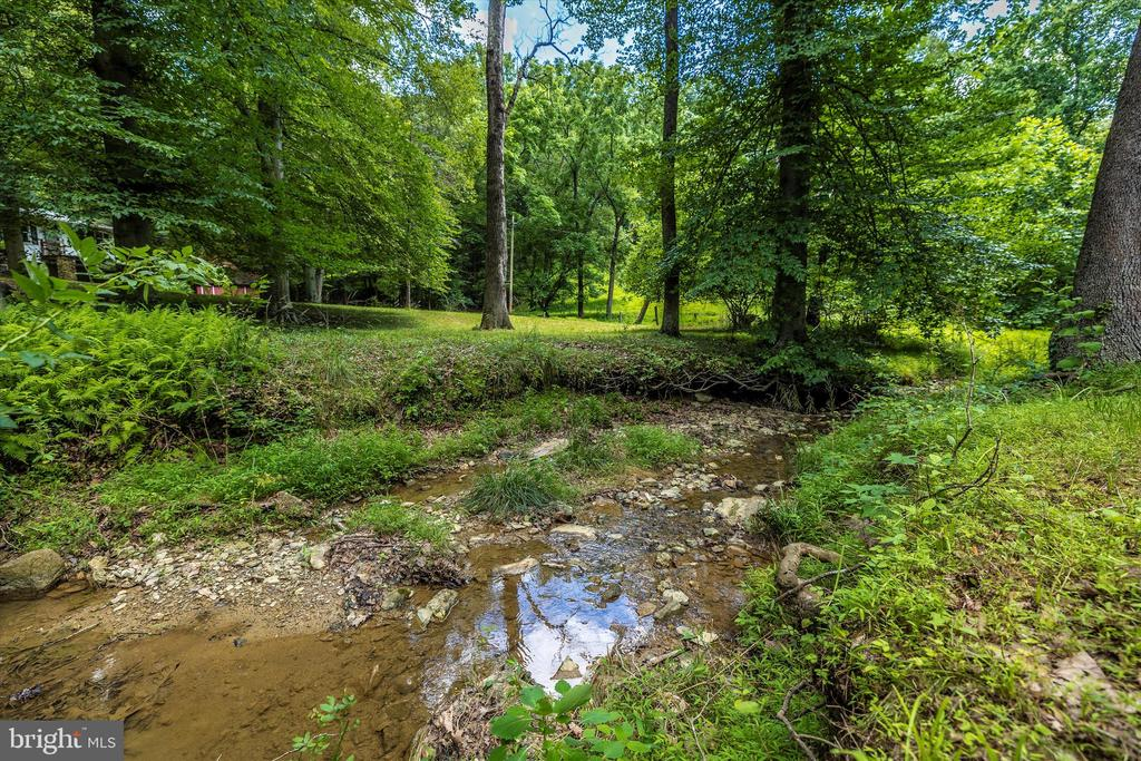 Stream on property - 6233 YEAGERTOWN RD, NEW MARKET