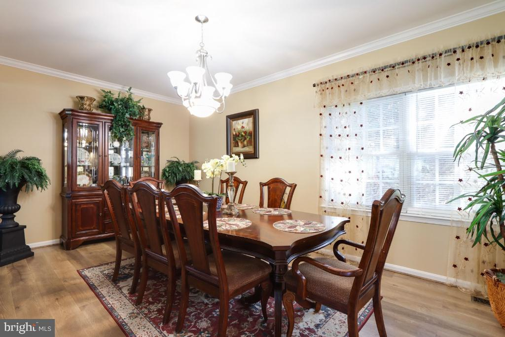 Formal Dining Room! - 384 TURNBERRY DR, CHARLES TOWN