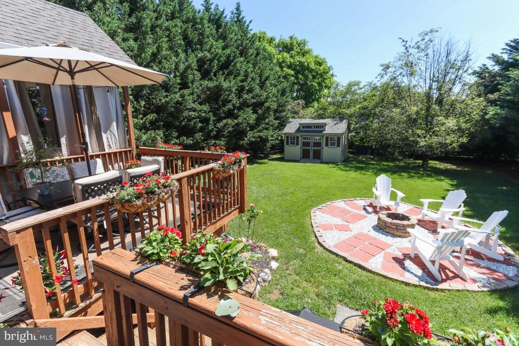 And What About That Fire Pit?! - 384 TURNBERRY DR, CHARLES TOWN