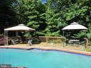 Lovely secluded pool area! - 81 ESTATE ROW, STAFFORD