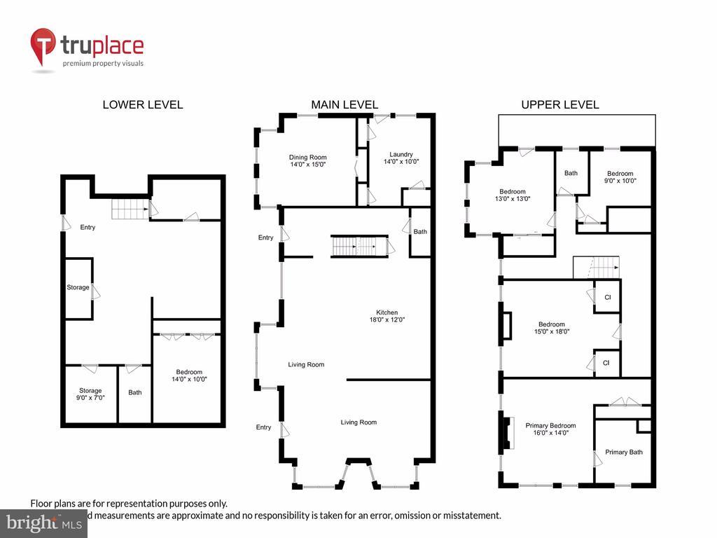 Combined Floorplan - 1250 D ST SE, WASHINGTON