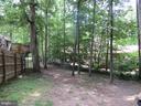 backyard - 201 HAPPY CREEK RD, LOCUST GROVE