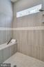OWNER'S BATH SHOWER - 5060 DIMPLES CT, WOODBRIDGE