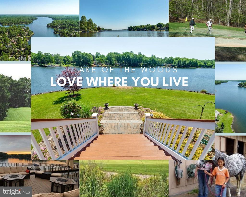 located in a lake neighborhood - 141 EAGLE CT, LOCUST GROVE