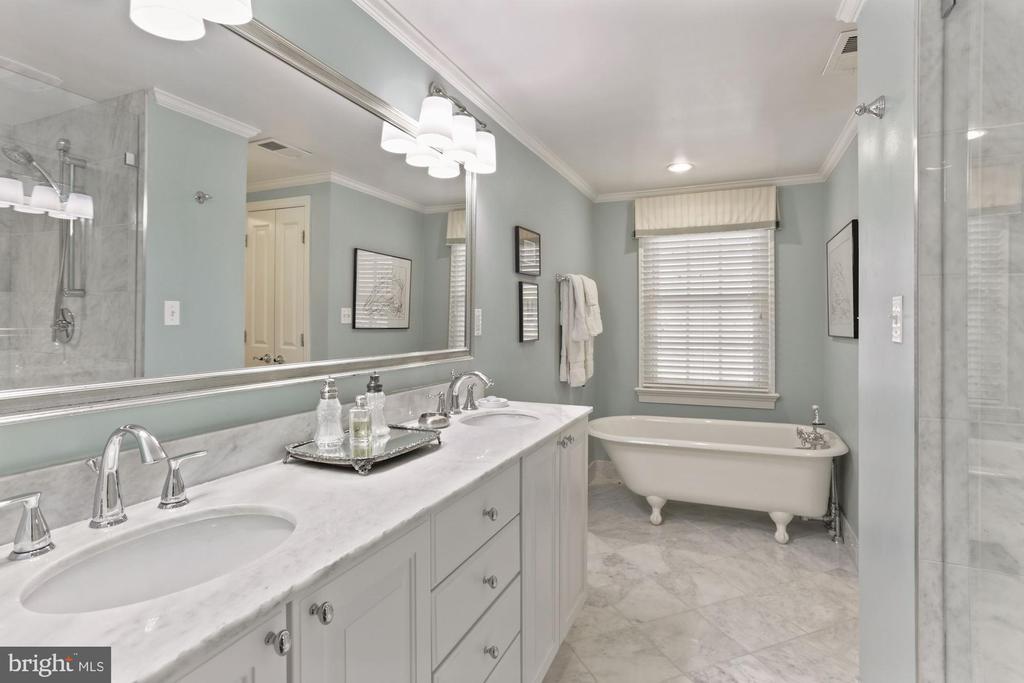 Spa bath with marble & granite - 121 6TH ST NE, WASHINGTON