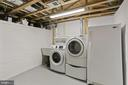 Lower level laundry - 121 6TH ST NE, WASHINGTON