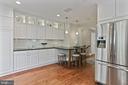Superb chef's kitchen - 121 6TH ST NE, WASHINGTON