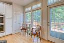Sitting area in kitchen - 7032 REGIONAL INLET DR, FORT BELVOIR