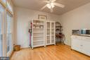 Dining or sitting area in kitchen - 7032 REGIONAL INLET DR, FORT BELVOIR