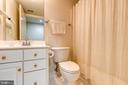 Bathroom in Basement - 7032 REGIONAL INLET DR, FORT BELVOIR