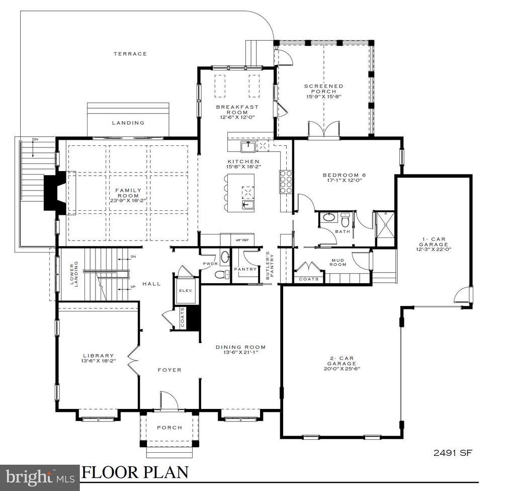 Main w/office, separate BR. gourmet kitchen - 3150 N POLLARD ST, ARLINGTON