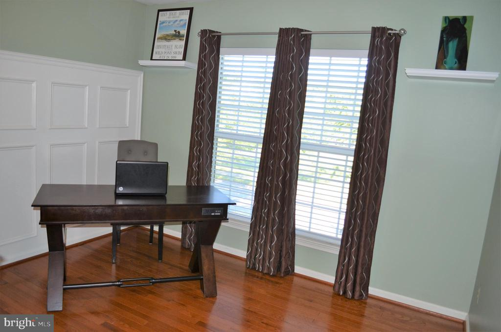 4th bedroom/office w/ detailed wainscotting - 6304 SPRING FOREST RD, FREDERICK