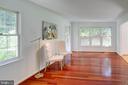 Plenty of windows in this living room! - 320 DESTROYER CV, STAFFORD