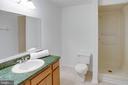 The lower level bath  has a shower - 320 DESTROYER CV, STAFFORD