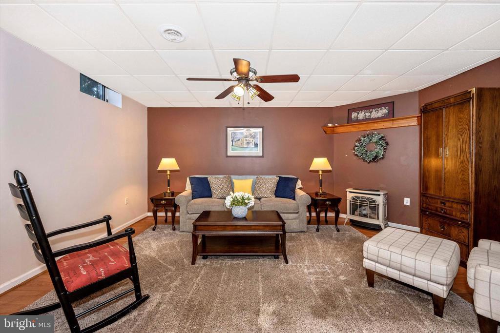 Lower level living room - 10740B WOODSBORO RD, WOODSBORO