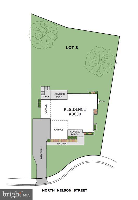 .39 acre lot in cul-de-sac abutting park land - 3630 N NELSON ST, ARLINGTON