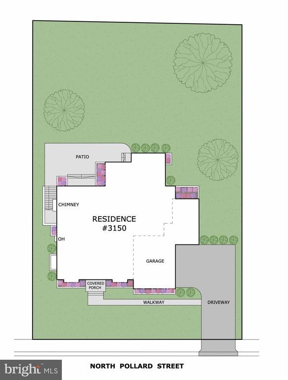 .38 acre lot near Wash. Golf Club & multiple parks - 3150 N POLLARD ST, ARLINGTON