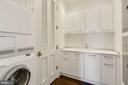 Full laundry room with storage cabinetry - 1881 N NASH ST #2311, ARLINGTON