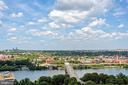Gorgeous cityscape & river views from #2311 - 1881 N NASH ST #2311, ARLINGTON