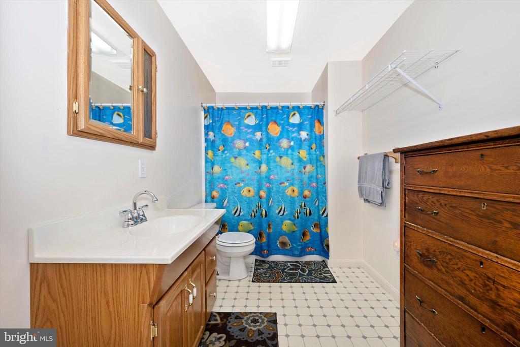 Basement Full bath - 6904 BARON CT, FREDERICK