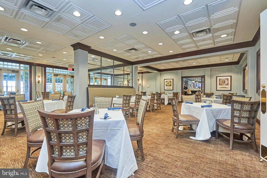 Belmont country club amenity - On site restaurant - 20003 BELMONT STATION DR, ASHBURN