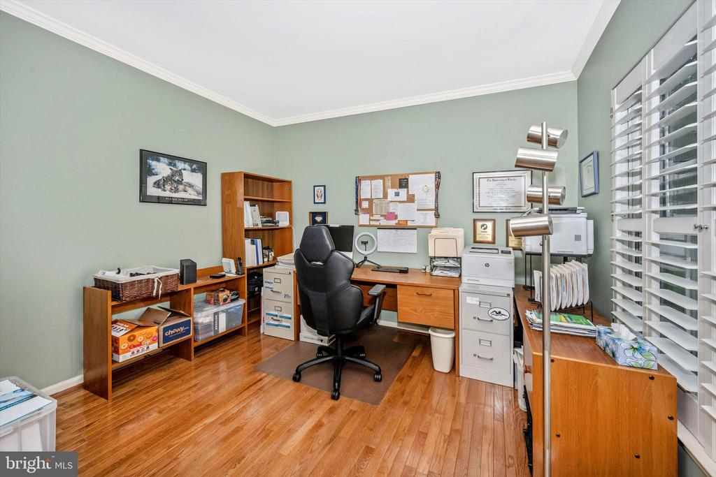 Main floor den/office to right as you walk in - 6304 SPRING FOREST RD, FREDERICK