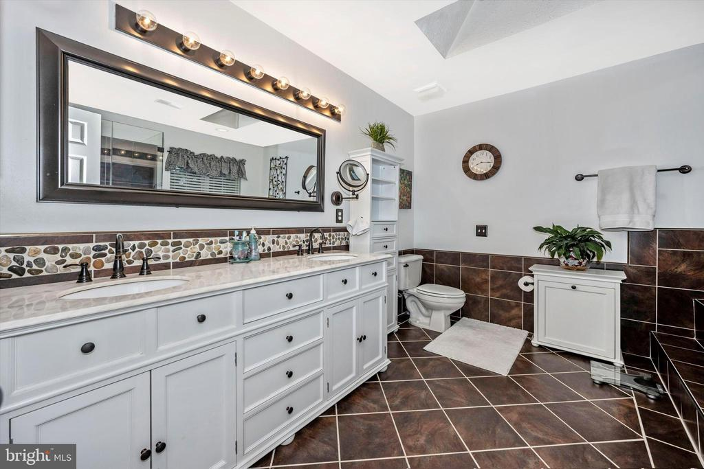 Master bathroom - all updated! - 6304 SPRING FOREST RD, FREDERICK