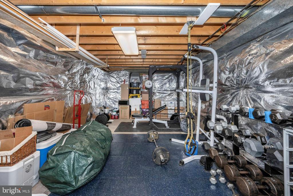 Plenty of storage in lower level - 6304 SPRING FOREST RD, FREDERICK