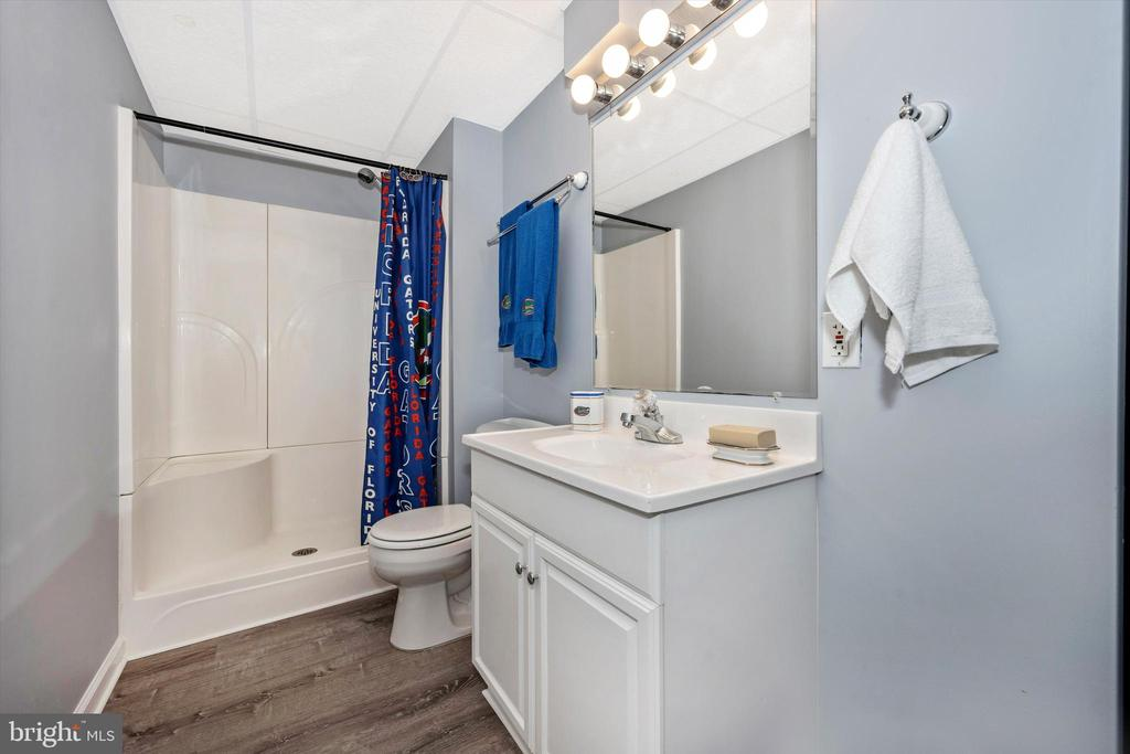 4th full bath in lower level! - 6304 SPRING FOREST RD, FREDERICK