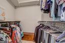 Primary/Master Bedroom Walk-In Closet #1 - 5904 MOUNT EAGLE DR #504, ALEXANDRIA