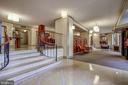 Welcoming and Upscale Building Lobby! - 5904 MOUNT EAGLE DR #504, ALEXANDRIA