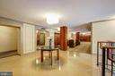 Building Lobby with Sitting and Meeting Areas! - 5904 MOUNT EAGLE DR #504, ALEXANDRIA