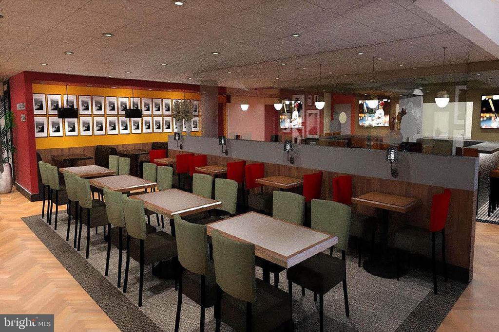 Rendering of New Montebello Cafe Restaurant - 5904 MOUNT EAGLE DR #504, ALEXANDRIA