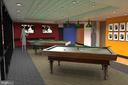 Rendering of New Community Center Game Room - 5904 MOUNT EAGLE DR #504, ALEXANDRIA