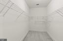 Huge primary bedroom closet #2 - 43409 RIVERPOINT DR, LEESBURG
