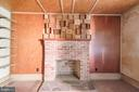 Cozy fireplace for winter in Harpers Ferry - 371 HENRY CLAY, HARPERS FERRY