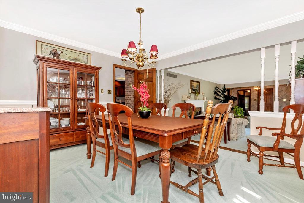 Formal Dining Room - 7402 ROUND HILL RD, FREDERICK