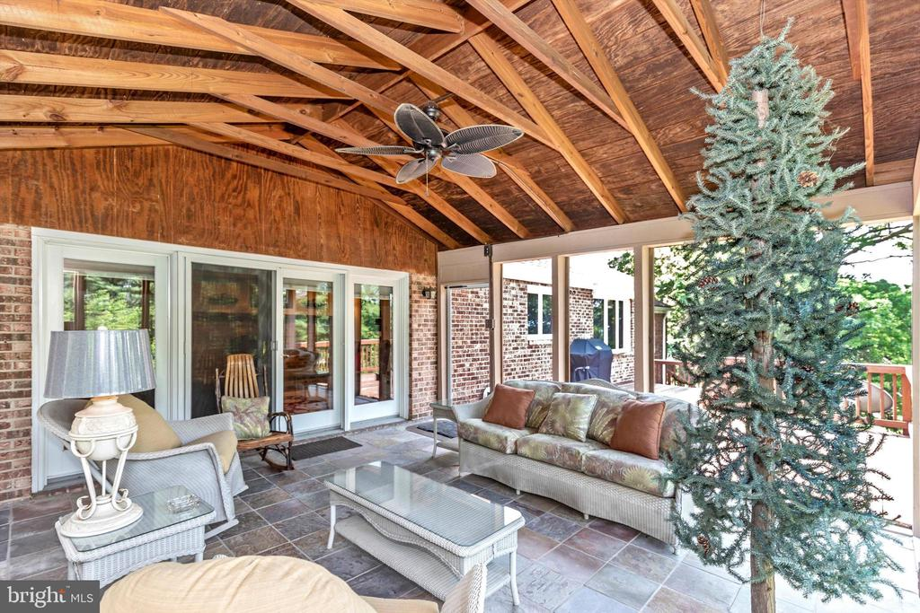 Covered Screened Porch - 7402 ROUND HILL RD, FREDERICK