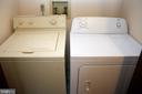 Washer & Dryer Convey - 5221 MAGNOLIA PL, FREDERICKSBURG