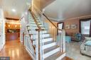 WELCOME HOME - front staircase - 8305 VENTNOR RD, PASADENA