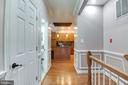 look at those wood floors & decorative moldings - 8305 VENTNOR RD, PASADENA