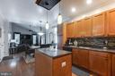 kitchen looking into family room - 8305 VENTNOR RD, PASADENA