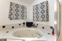 jetted soaking tub in upper level Master bath - 8305 VENTNOR RD, PASADENA