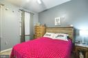 Main level bedroom w/ closet - or could be office - 8305 VENTNOR RD, PASADENA