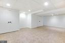 Fully finished lower level - - 8305 VENTNOR RD, PASADENA