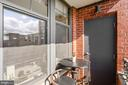 Balcony - 1021 N GARFIELD ST #731, ARLINGTON