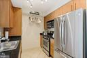 Stainless steel appliances in kitchen - 1021 N GARFIELD ST #731, ARLINGTON