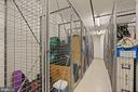 Storage unit on same floor. - 1021 N GARFIELD ST #731, ARLINGTON