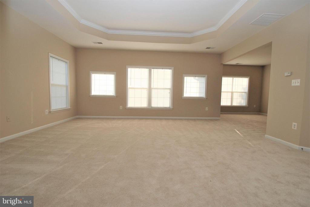 Huge Primary BR w/ sitting room & Tray ceiling - 22554 FOREST RUN DR, ASHBURN